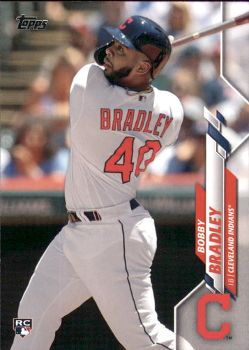 Photo of 2020 Topps #40 Bobby Bradley RC