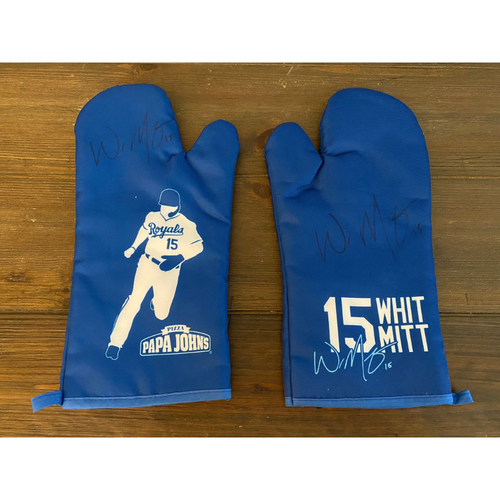 Photo of Whit Merrifield's Royals Respond Auction: Autographed Whit Oven Mitts (NOT MLB AUTHENTICATED)