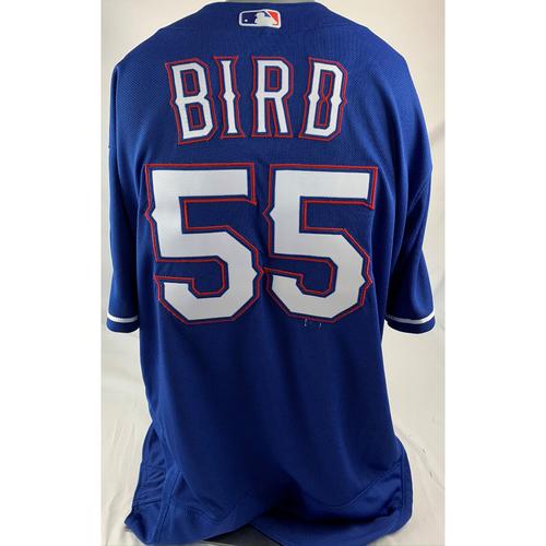Photo of Team-Issued Blue Jersey - Kyle Bird