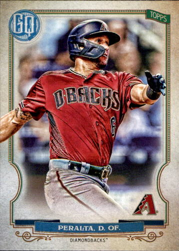 Photo of 2020 Topps Gypsy Queen #81 David Peralta