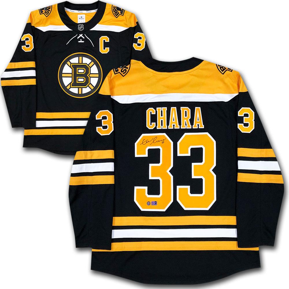 Zdeno Chara Autographed Boston Bruins Fanatics Jersey