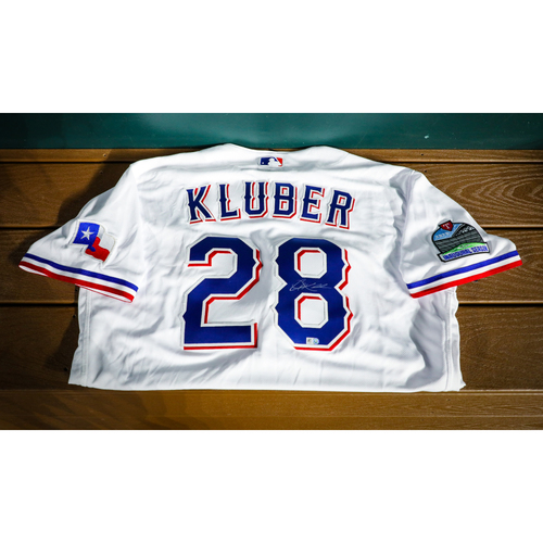 Photo of Corey Kluber Autographed Authentic Jersey