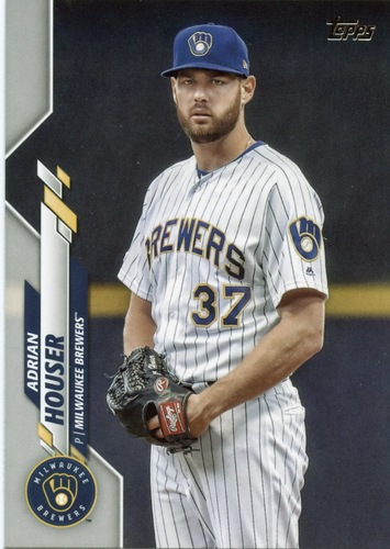 Photo of 2020 Topps #399 Adrian Houser