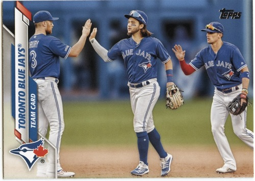 Photo of 2020 Topps #629 Toronto Blue Jays TC