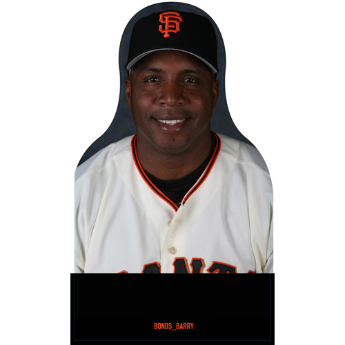 Photo of Giants Community Fund: Giants Barry Bonds Cutout