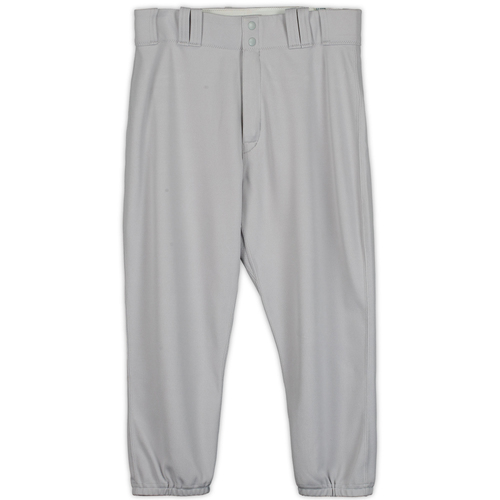 Photo of Starlin Castro New York Yankees Game-Used Gray Pants from the 2017 MLB Postseason
