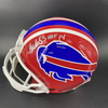 HOF - Bills Andre Reed Signed Authentic Proline Helmet with