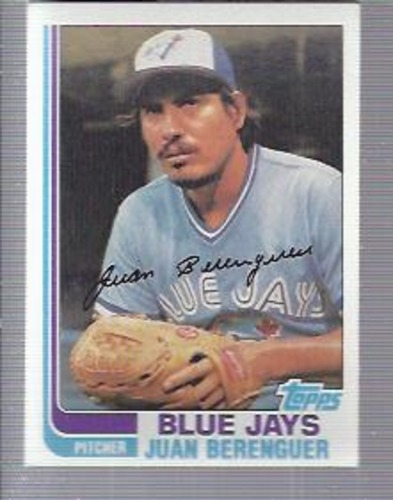 Photo of 1982 Topps #437 Juan Berenguer