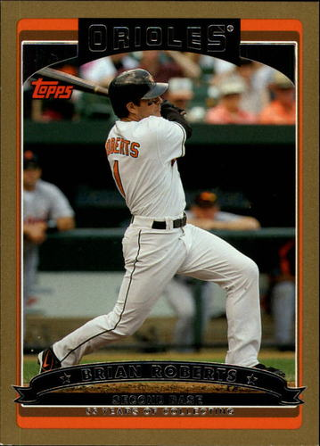 Photo of 2006 Topps Gold #15 Brian Roberts