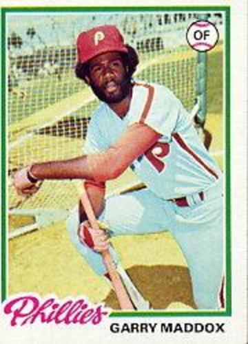 Photo of 1978 Topps #610 Garry Maddox