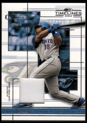 Photo of 2004 Donruss Timelines Material #49 Vernon Wells Jsy