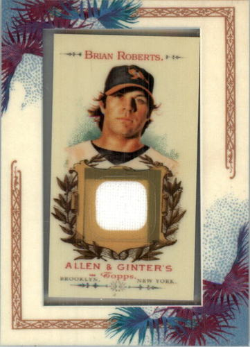Photo of 2007 Topps Allen and Ginter Relics #BR Brian Roberts J