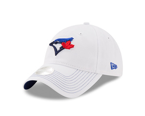 Toronto Blue Jays Youth Pop Preferred Pick White/Royal Adjustable Cap by New Era
