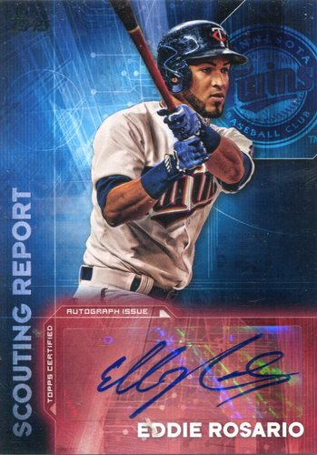 Photo of 2016 Topps Scouting Report Autographs Eddie Rosario
