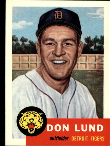 Photo of 1991 Topps Archives 1953 #277 Don Lund