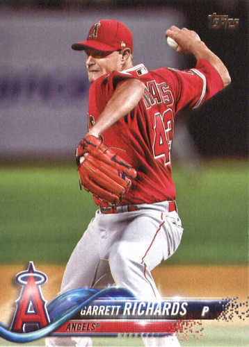 Photo of 2018 Topps #19 Garrett Richards