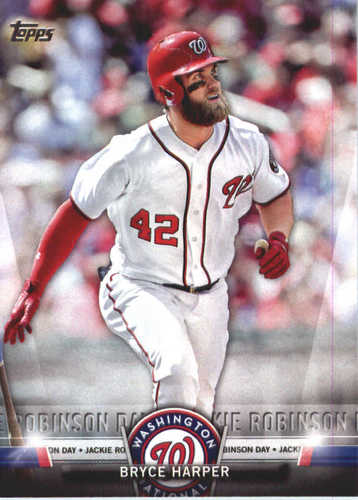Photo of 2018 Topps Salute #TS1 Bryce Harper