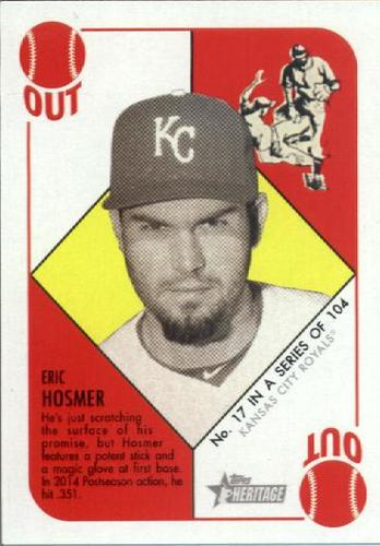Photo of 2015 Topps Heritage '51 Collection #17 Eric Hosmer