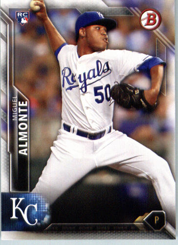 Photo of 2016 Bowman #136 Miguel Almonte RC