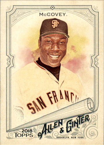 Photo of 2018 Topps Allen and Ginter #277 Willie McCovey