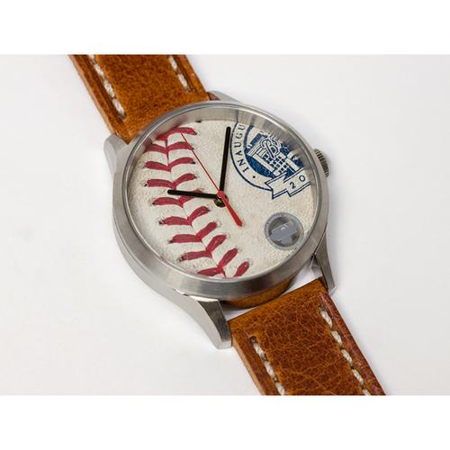 Photo of Tokens & Icons Atlanta Braves Inaugural Season at SunTrust Park Game Used Baseball Watch