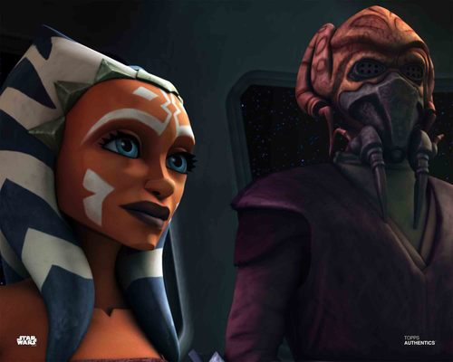 Ahsoka Tano and Plo Koon