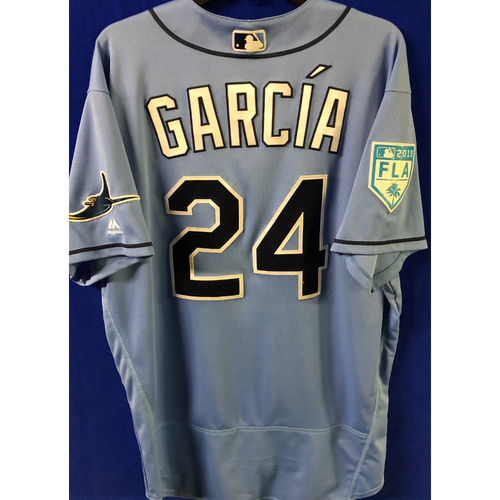 Photo of Game Used Spring Training Jersey: Avisail Garcia - March 26, 2019 v DET