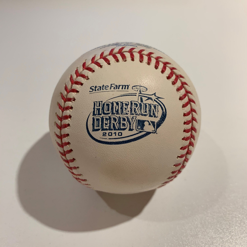Photo of 2010 Home Run Derby - Game Used Baseball - Batter: David Ortiz -  Round 2 Out #7