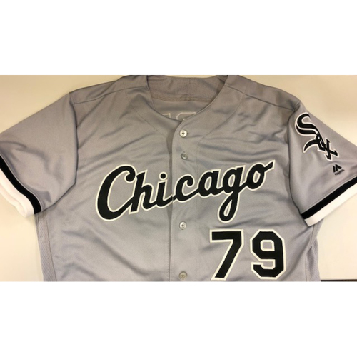 Photo of Jose Abreu Team Issued 2018 Grey Road Jersey Size 46
