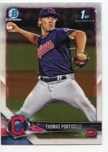 Photo of 2018 Bowman Chrome Draft #BDC42 Thomas Ponticelli