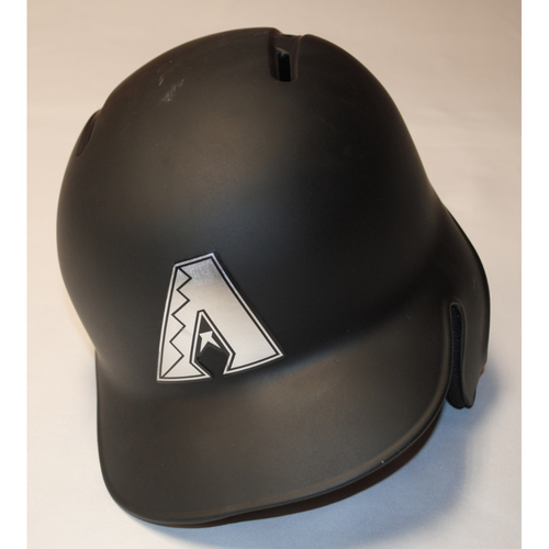 "Photo of Zac ""GALLS"" Gallen Arizona Diamondbacks Game-Used 2019 Players' Weekend Helmet"