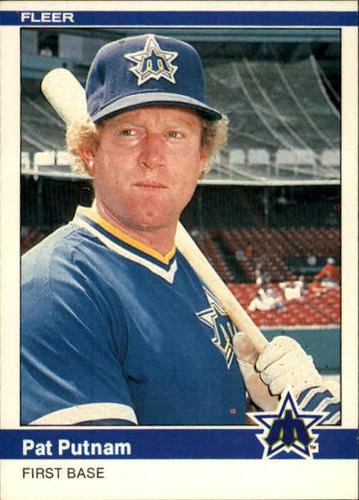 Photo of 1984 Fleer #617 Pat Putnam