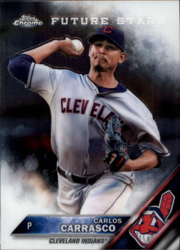 Photo of 2016 Topps Chrome #158 Carlos Carrasco
