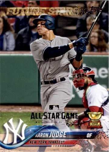 Photo of 2018 Topps All Star Game Silver #1 Aaron Judge
