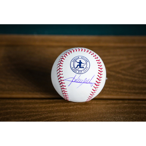 Photo of Adrian Beltre 3,000 Hit Club Autographed Baseball