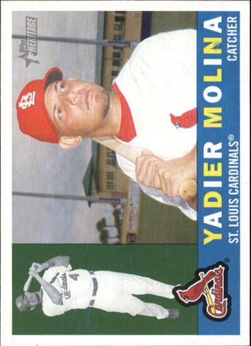 Photo of 2009 Topps Heritage #84 Yadier Molina