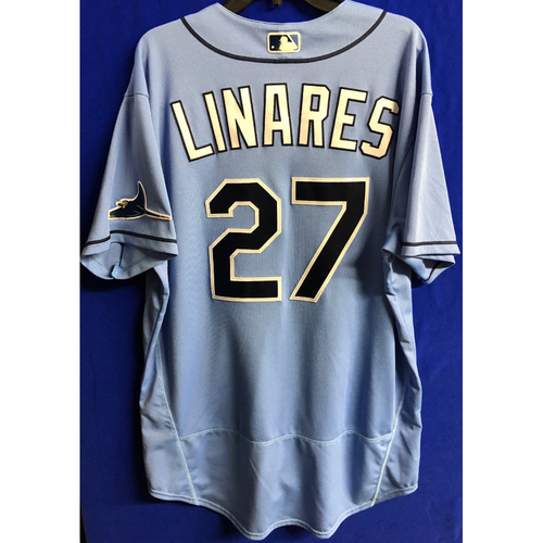 Photo of Team Issued Spring Training Jersey: Rodney Linares - 2020