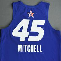 Donovan Mitchell - Game-Worn 2021 NBA All-Star Jersey - 1st Half - Also Worn In MTN DEW 3-Point Contest