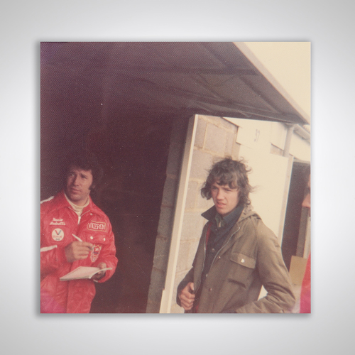 Photo of Mario Andretti 1979 Autograph With Photograph