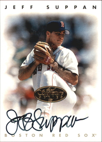 Photo of 1996 Leaf Signature Autographs Gold #216 Jeff Suppan