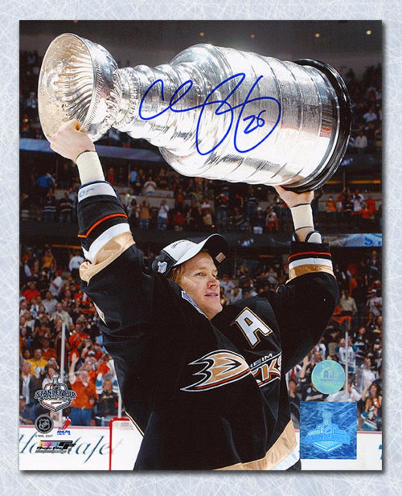 Chris Pronger Anaheim Ducks Autographed 2007 Stanley Cup 8x10 Photo