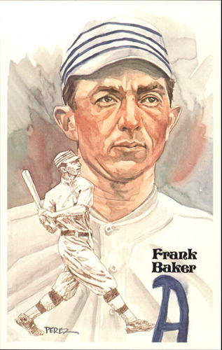 Photo of 1980-02 Perez-Steele Hall of Fame Postcards #74 Frank Baker  -- HOF Class of 1955