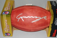 NFL - COWBOYS CHIDOBE AWUZIE SIGNED AUTHENTIC FOOTBALL