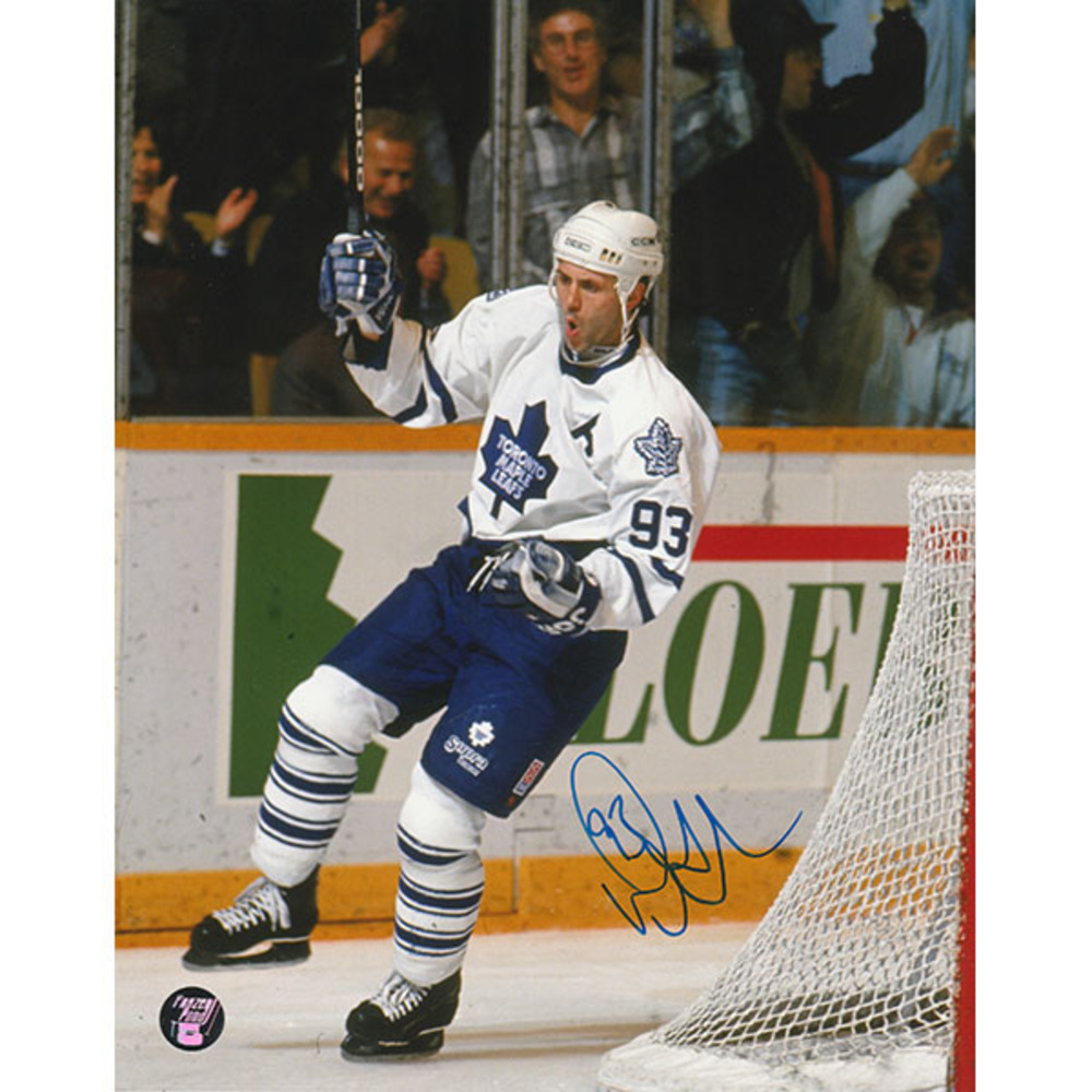 Doug Gilmour Autographed Toronto Maple Leafs 16X20 Photo