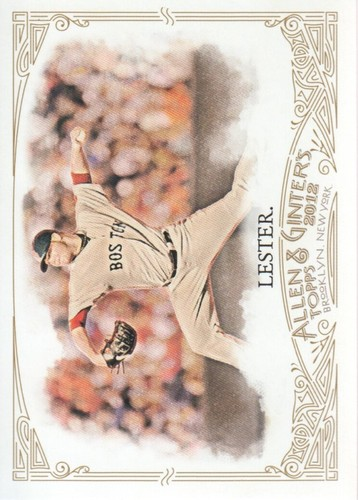 Photo of 2012 Topps Allen and Ginter #327 Jon Lester SP