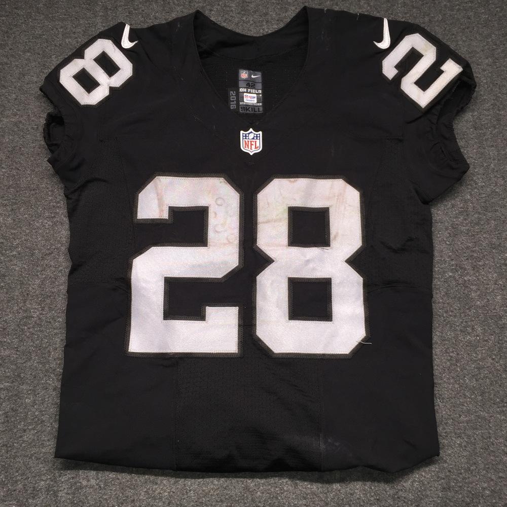NFL Auction | NFL International Series - Raiders Latavius Murray ...