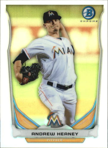 Photo of 2014 Bowman Chrome Bowman Scout Top 5 Mini Refractors #BMMM1 Andrew Heaney