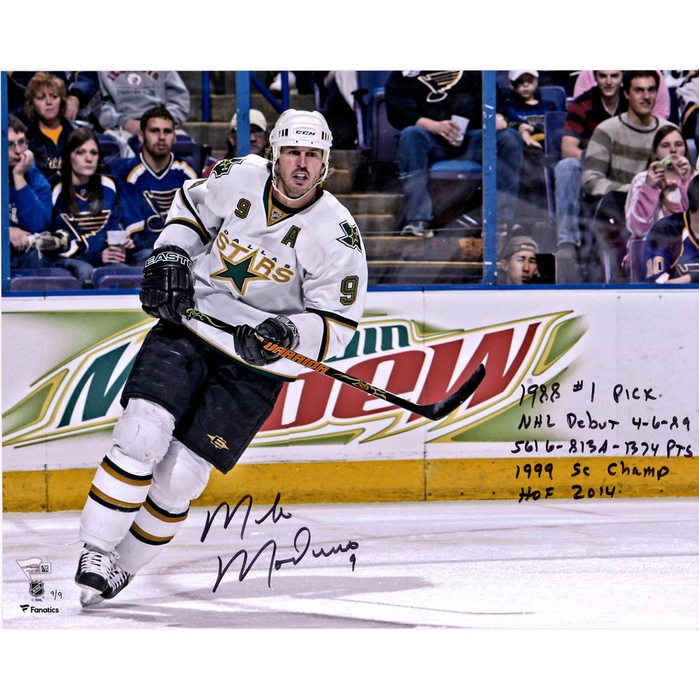 Mike Modano Dallas Stars Autographed 16