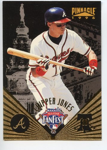 Photo of 1996 Pinnacle FanFest #21 Chipper Jones