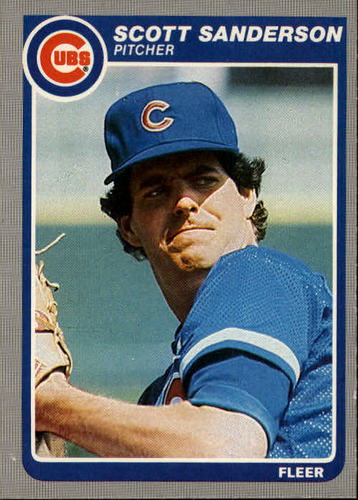 Photo of 1985 Fleer #66 Scott Sanderson